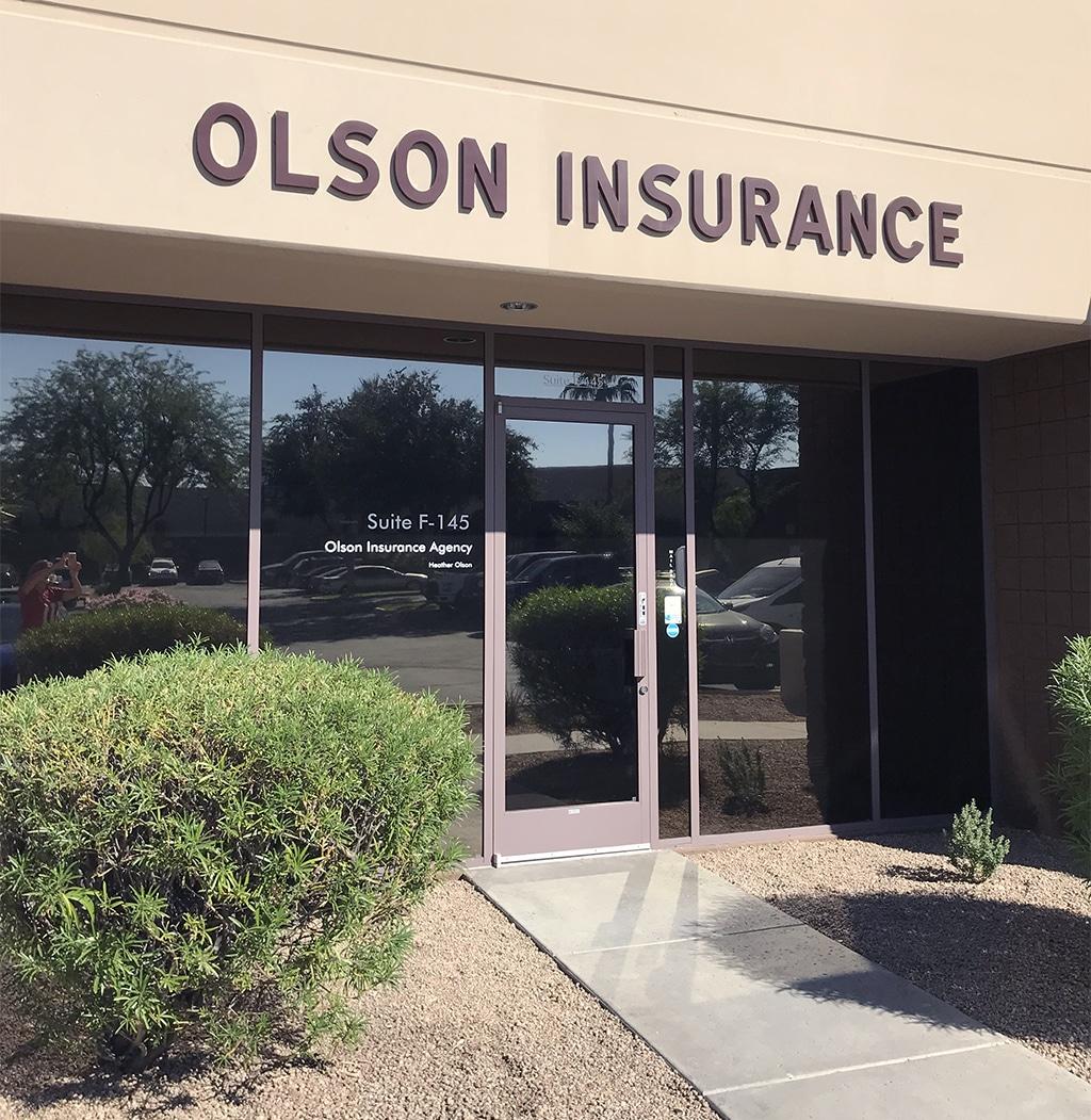 olson insurance office
